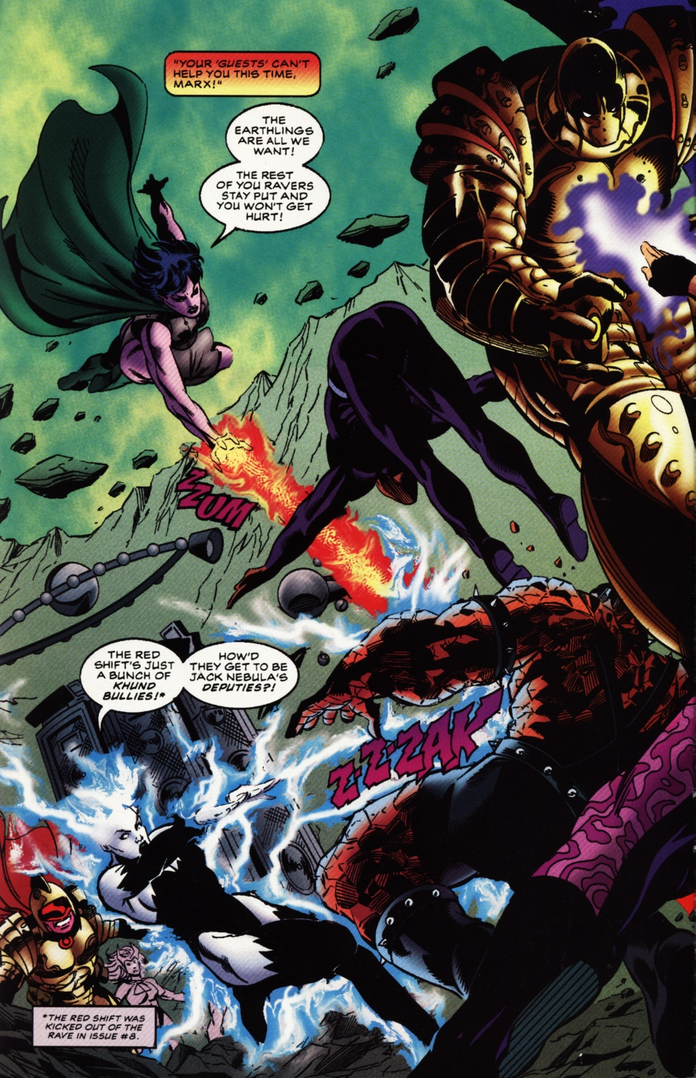 Read online Superboy & The Ravers comic -  Issue #12 - 3