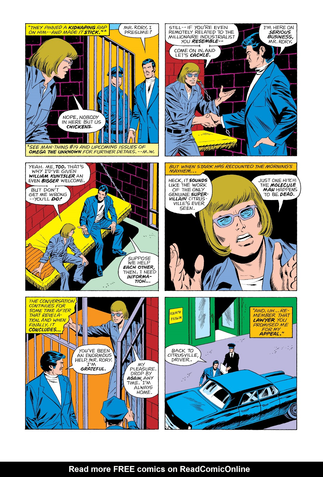 Read online Marvel Masterworks: The Invincible Iron Man comic -  Issue # TPB 11 (Part 2) - 35