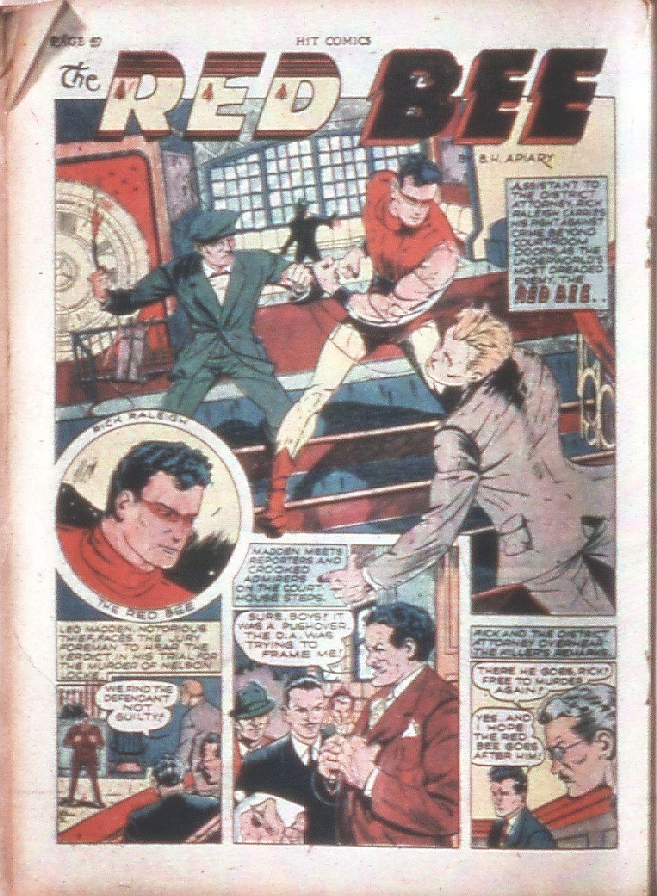 Read online Hit Comics comic -  Issue #15 - 34