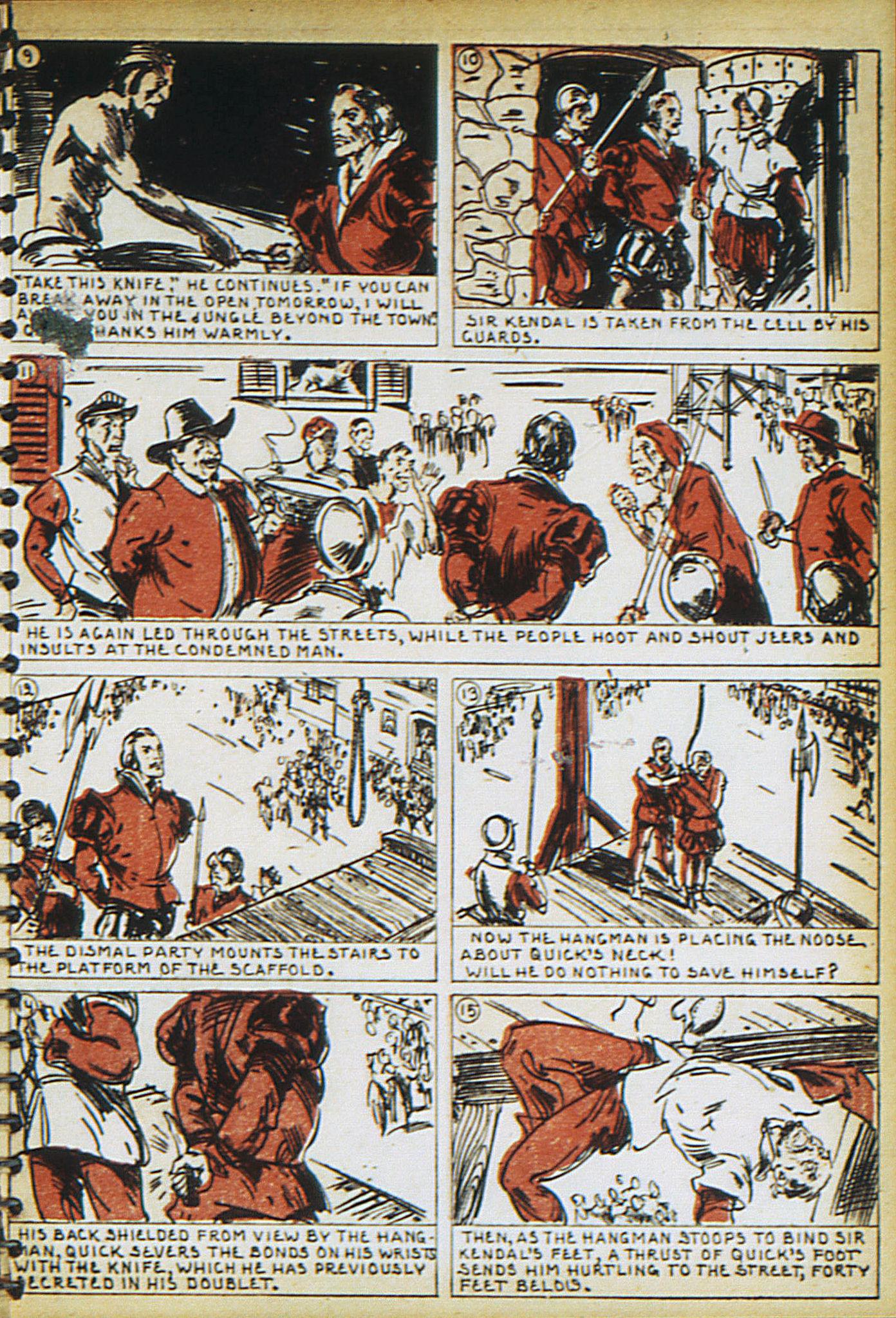 Read online Adventure Comics (1938) comic -  Issue #17 - 24