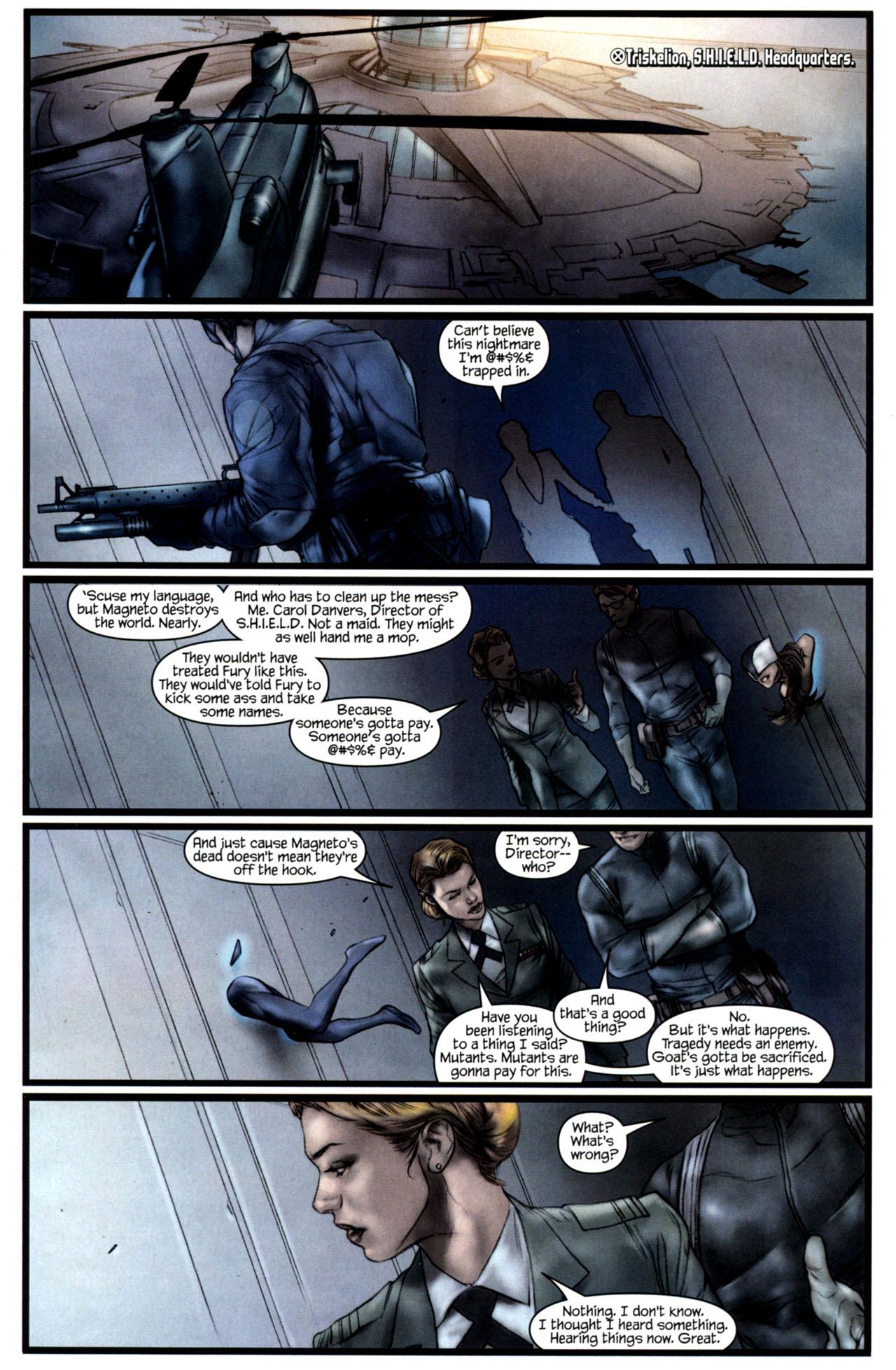 Read online Ultimatum: X-Men Requiem comic -  Issue # Full - 4