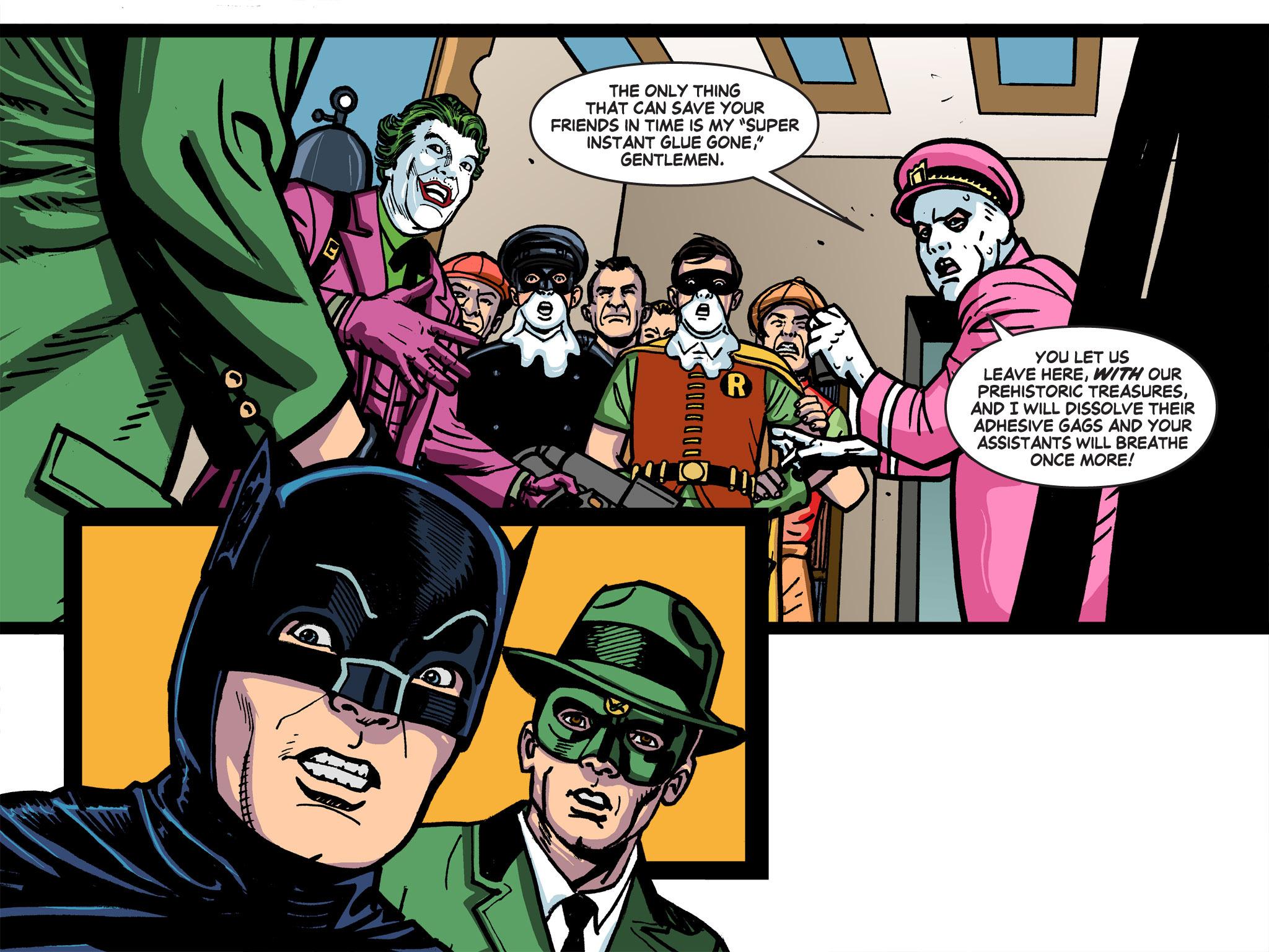 Read online Batman '66 Meets the Green Hornet [II] comic -  Issue #5 - 8