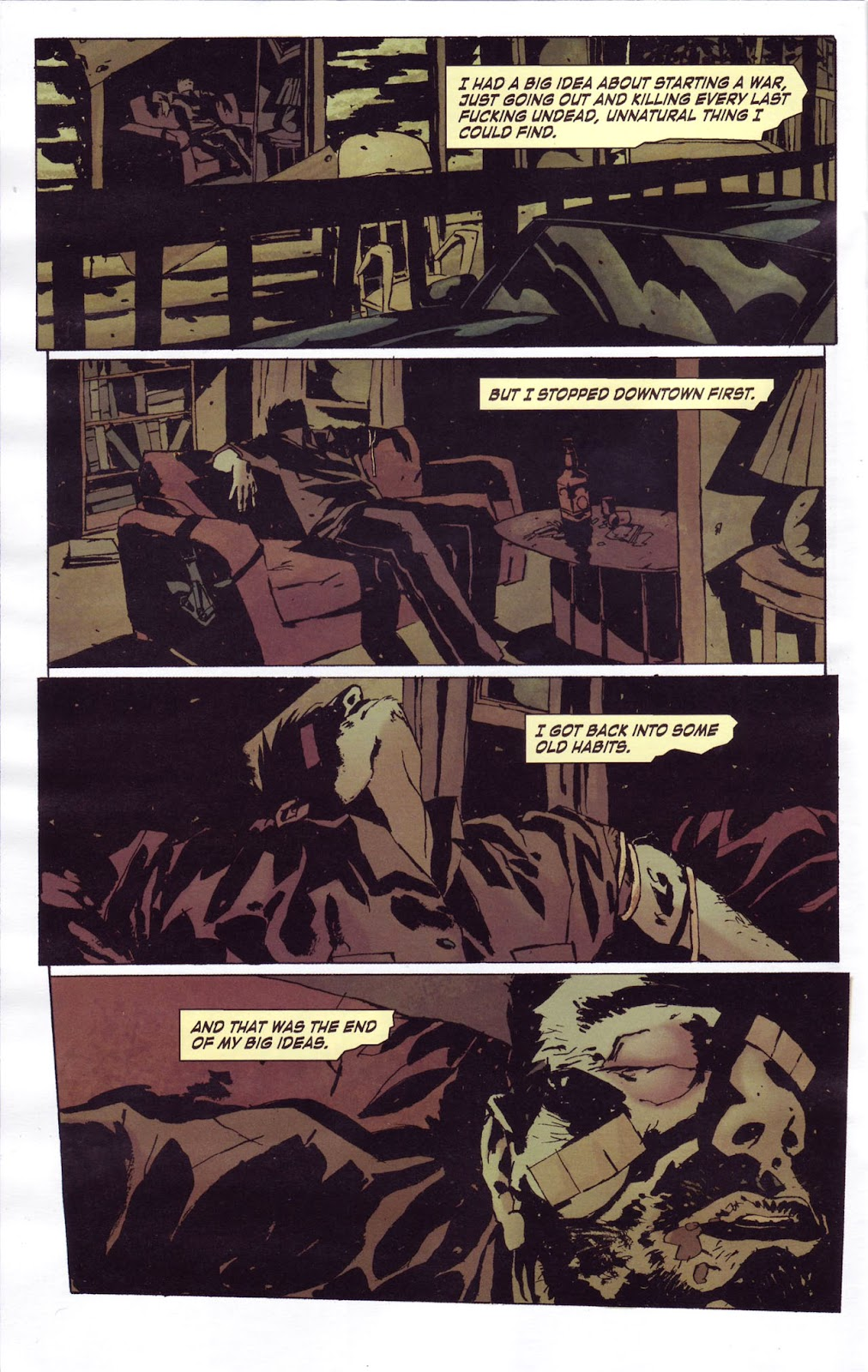 Criminal Macabre: My Demon Baby issue 1 - Page 4
