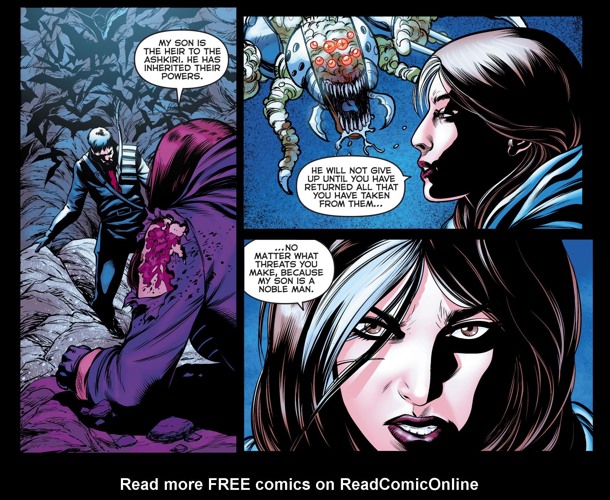 Read online Arrow: The Dark Archer comic -  Issue #10 - 17