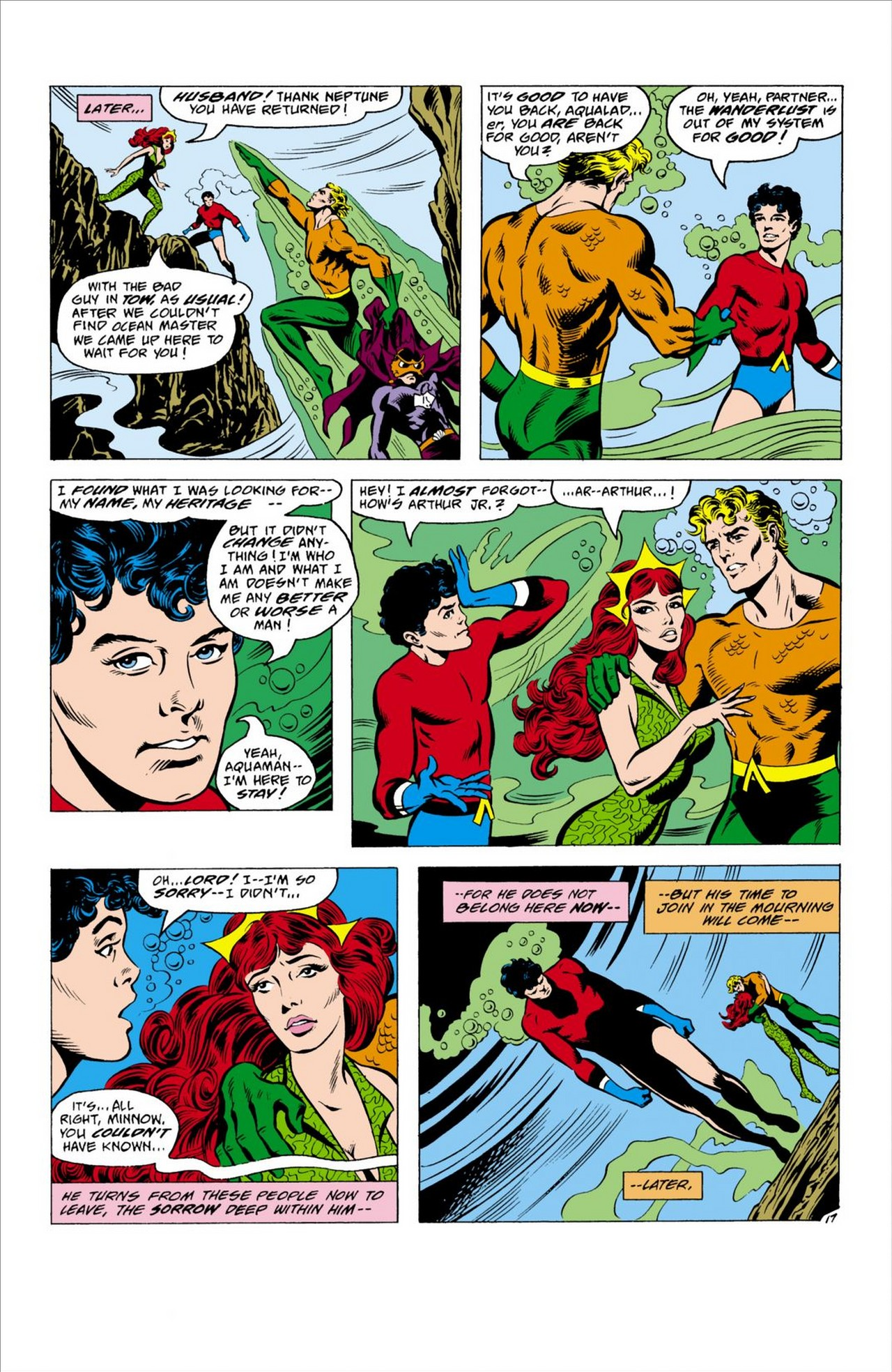 Read online Aquaman (1962) comic -  Issue #63 - 18