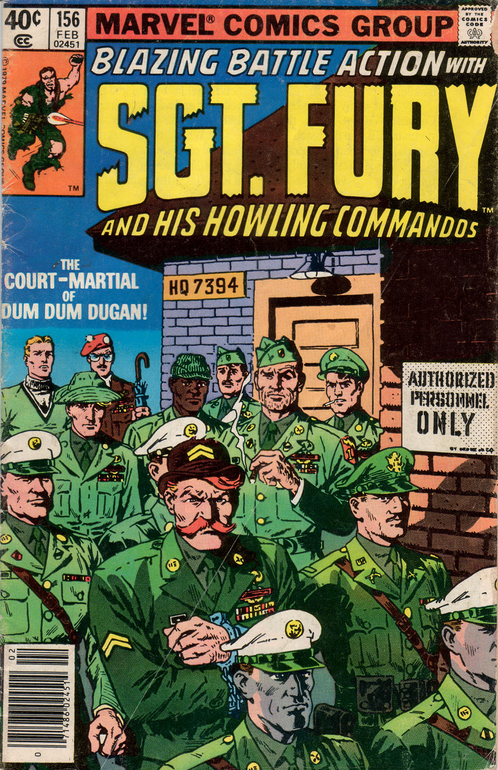 Sgt. Fury 156 Page 1