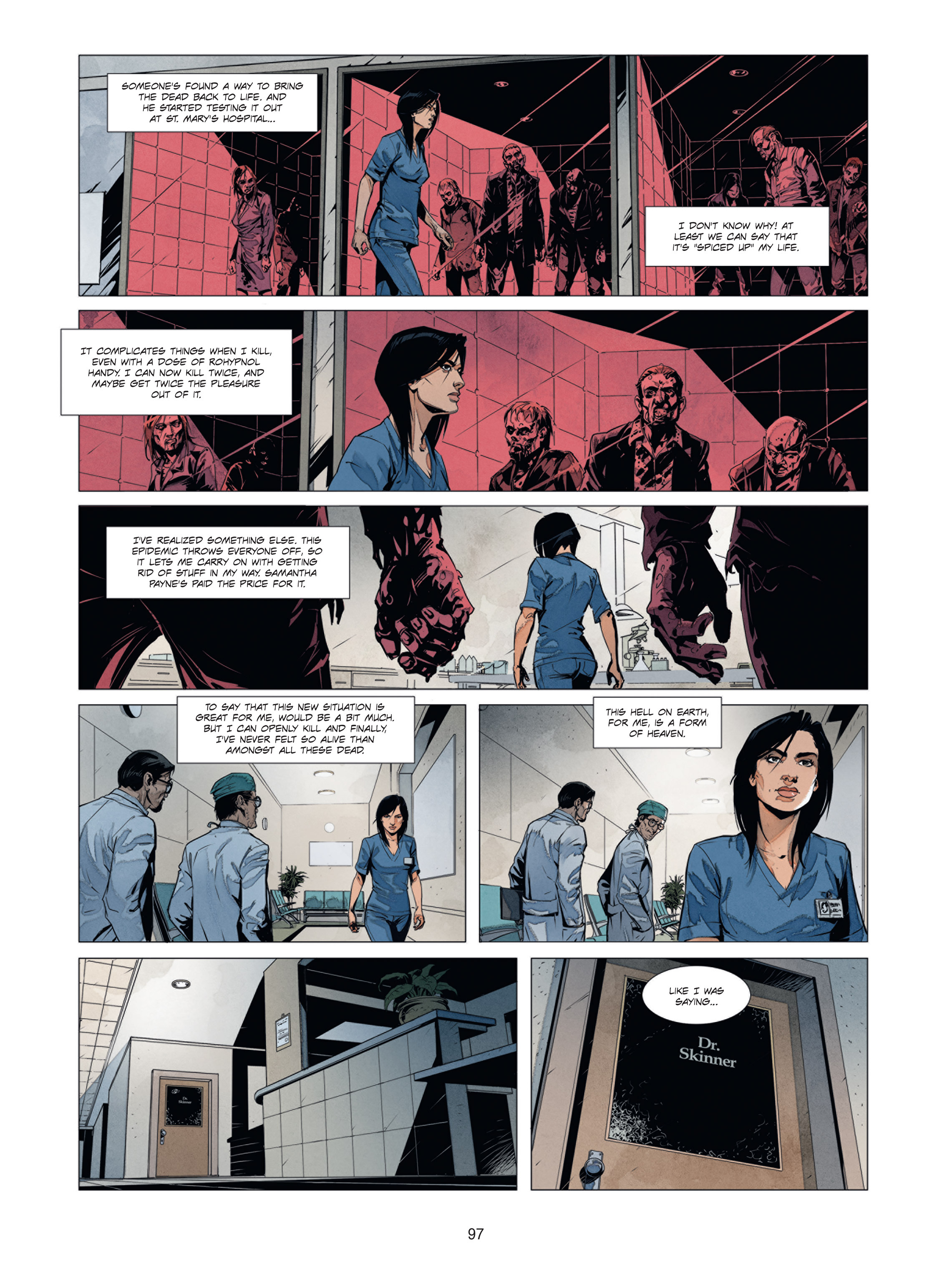 Read online Alice Matheson comic -  Issue #1 - 96