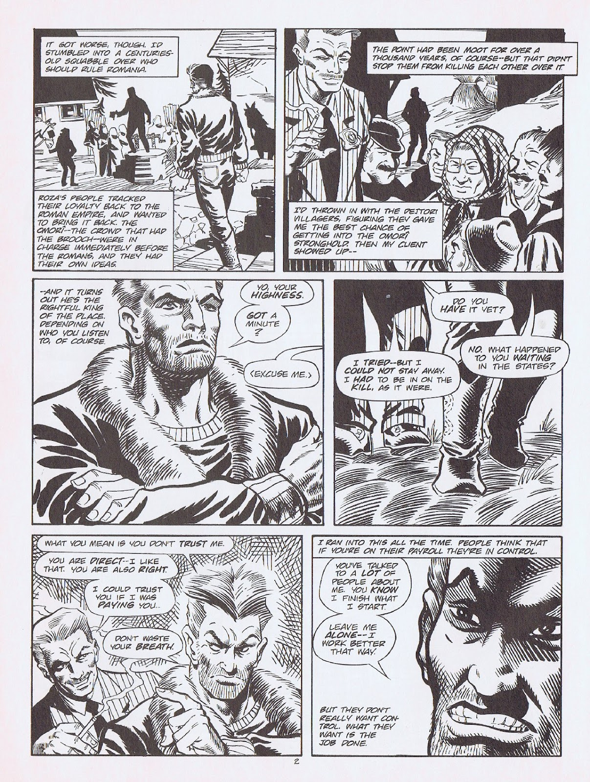Read online Merchants of Death comic -  Issue #3 - 37