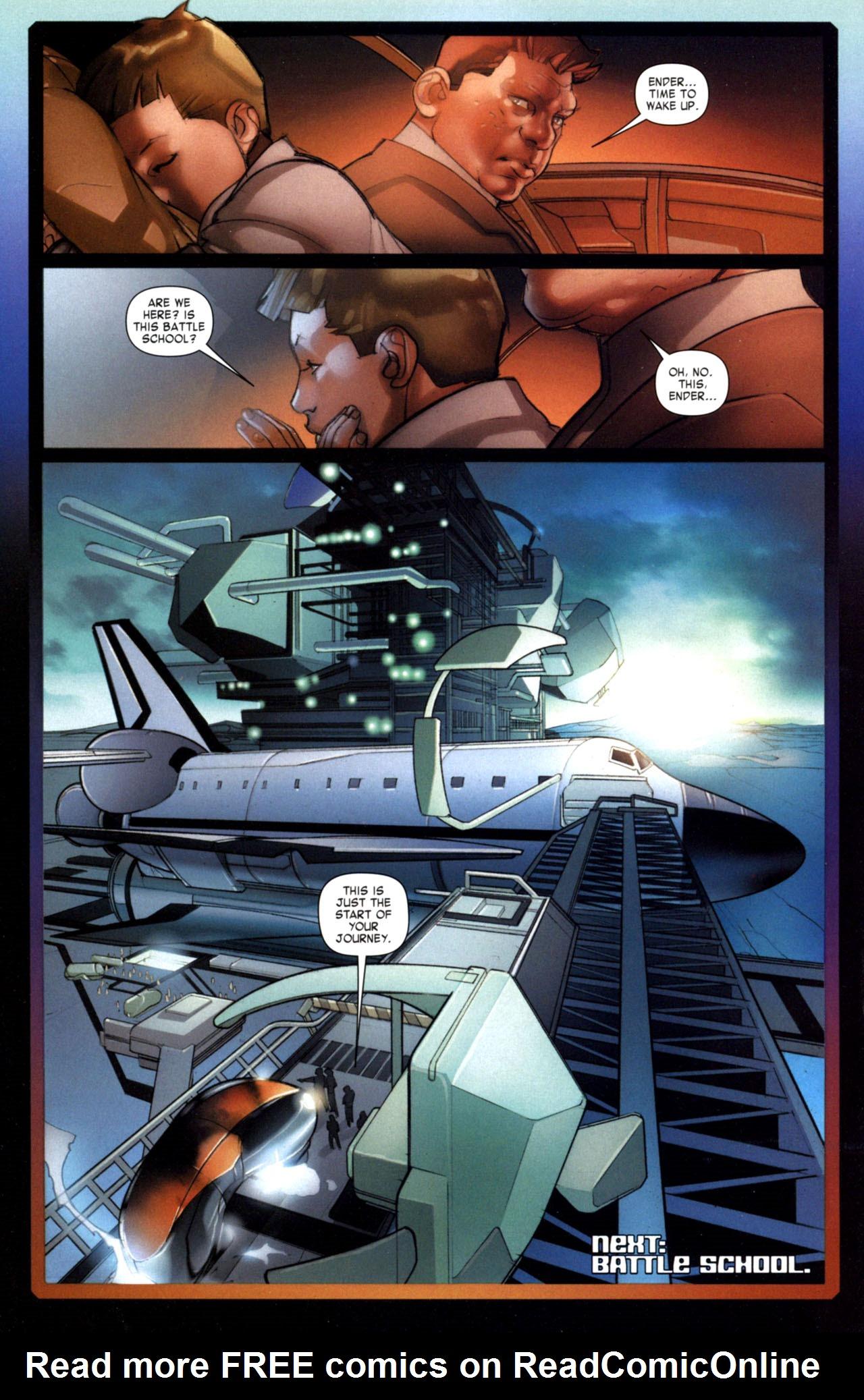 Read online Ender's Game: Battle School comic -  Issue #1 - 27