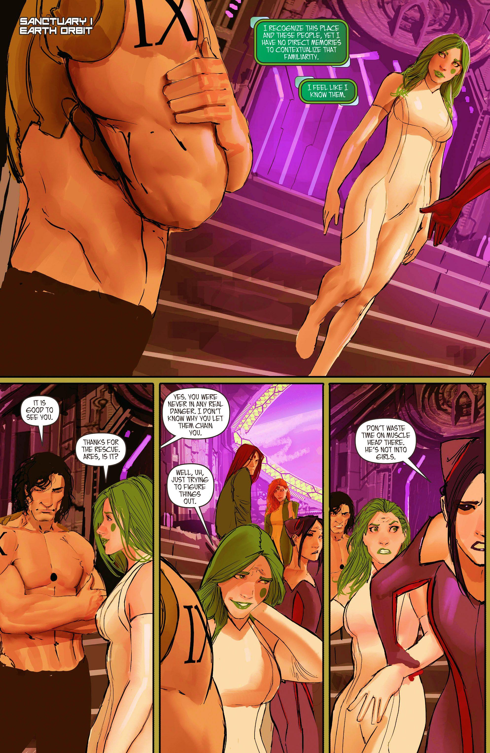 Read online Aphrodite IX (2013) comic -  Issue #11 - 5