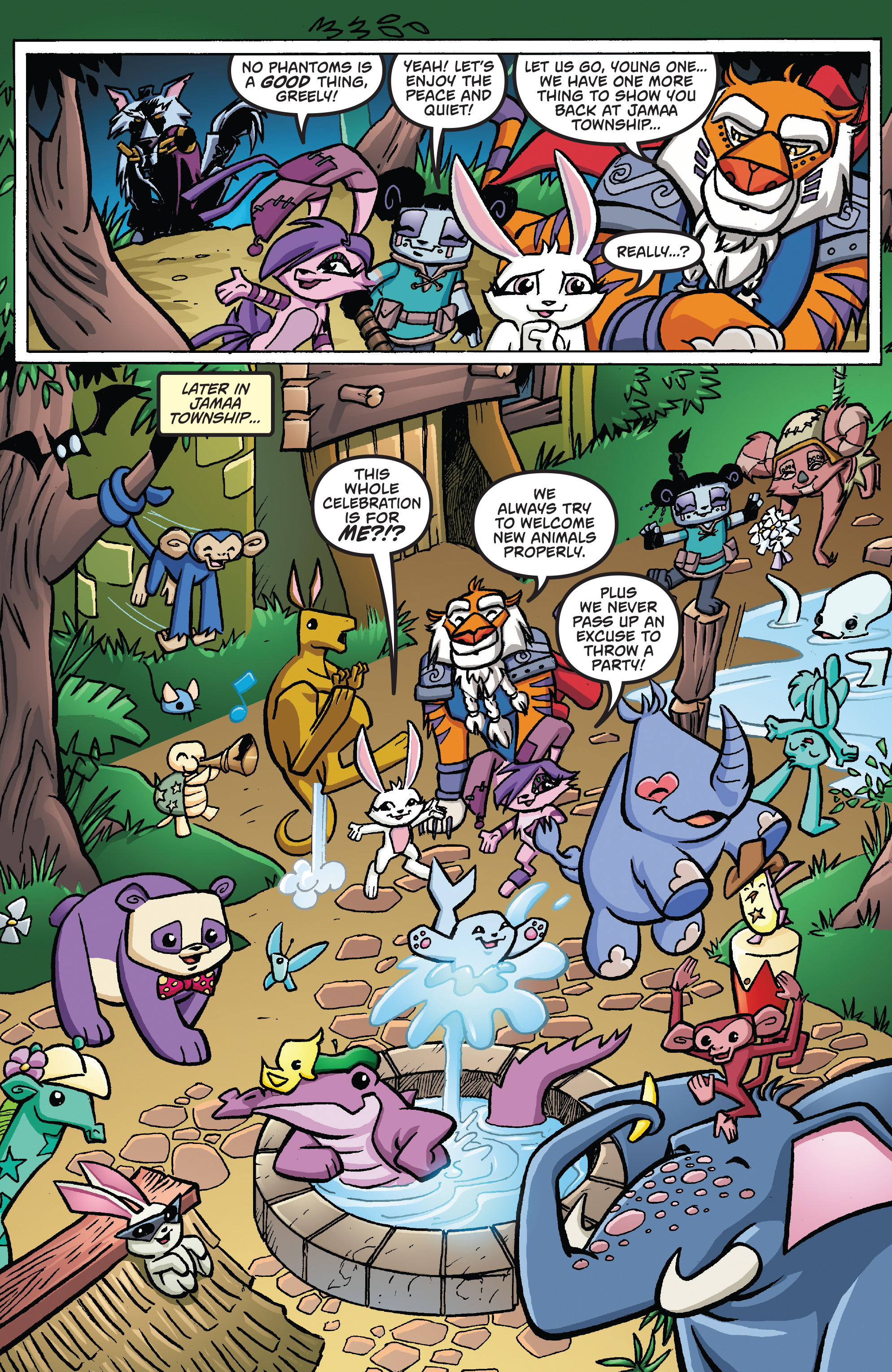 Read online Free Comic Book Day 2017 comic -  Issue # Animal Jam - 15