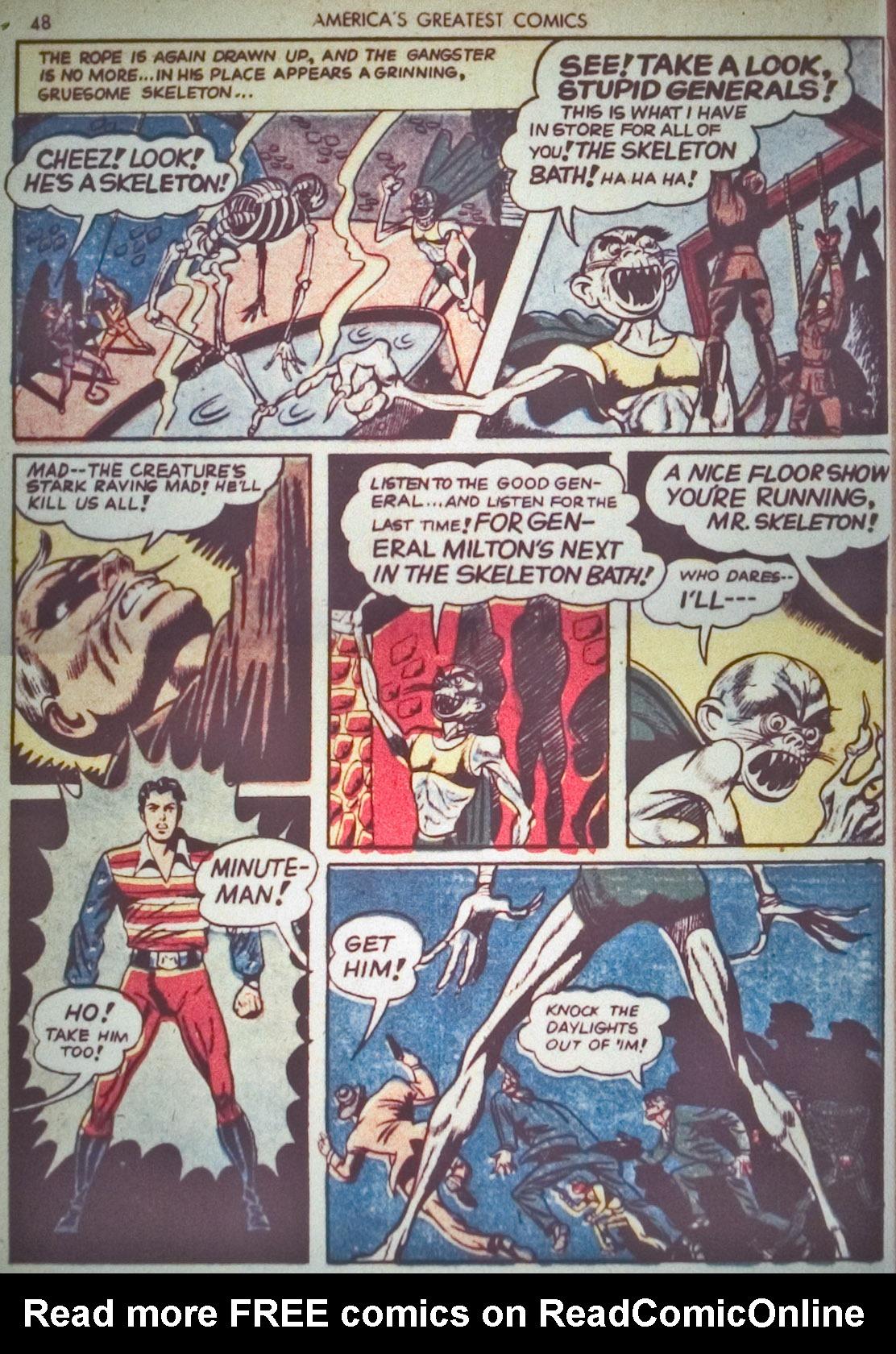 Read online America's Greatest Comics comic -  Issue #1 - 51