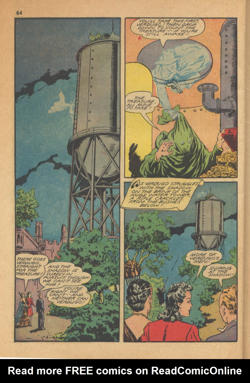 Read online Super-Magician Comics comic -  Issue #13 - 64