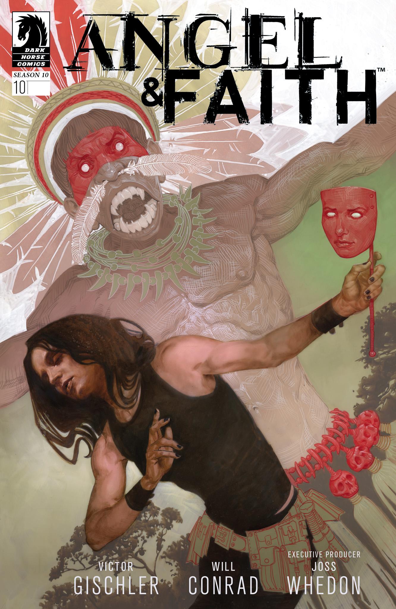 Read online Angel & Faith Season 10 comic -  Issue #10 - 1