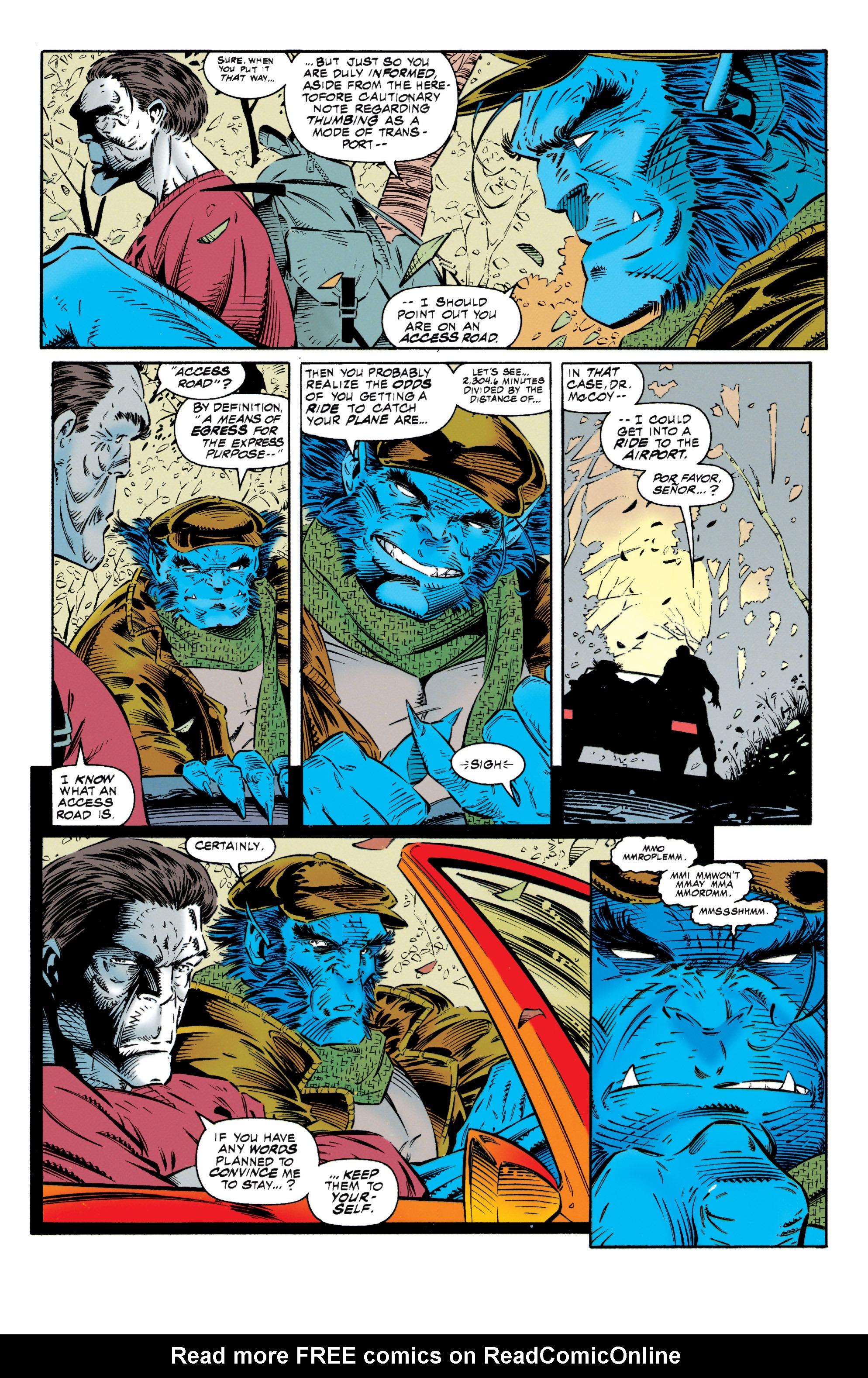 Read online Uncanny X-Men (1963) comic -  Issue #318 - 4