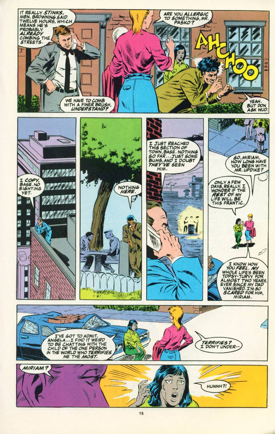 Read online Justice (1986) comic -  Issue #22 - 16