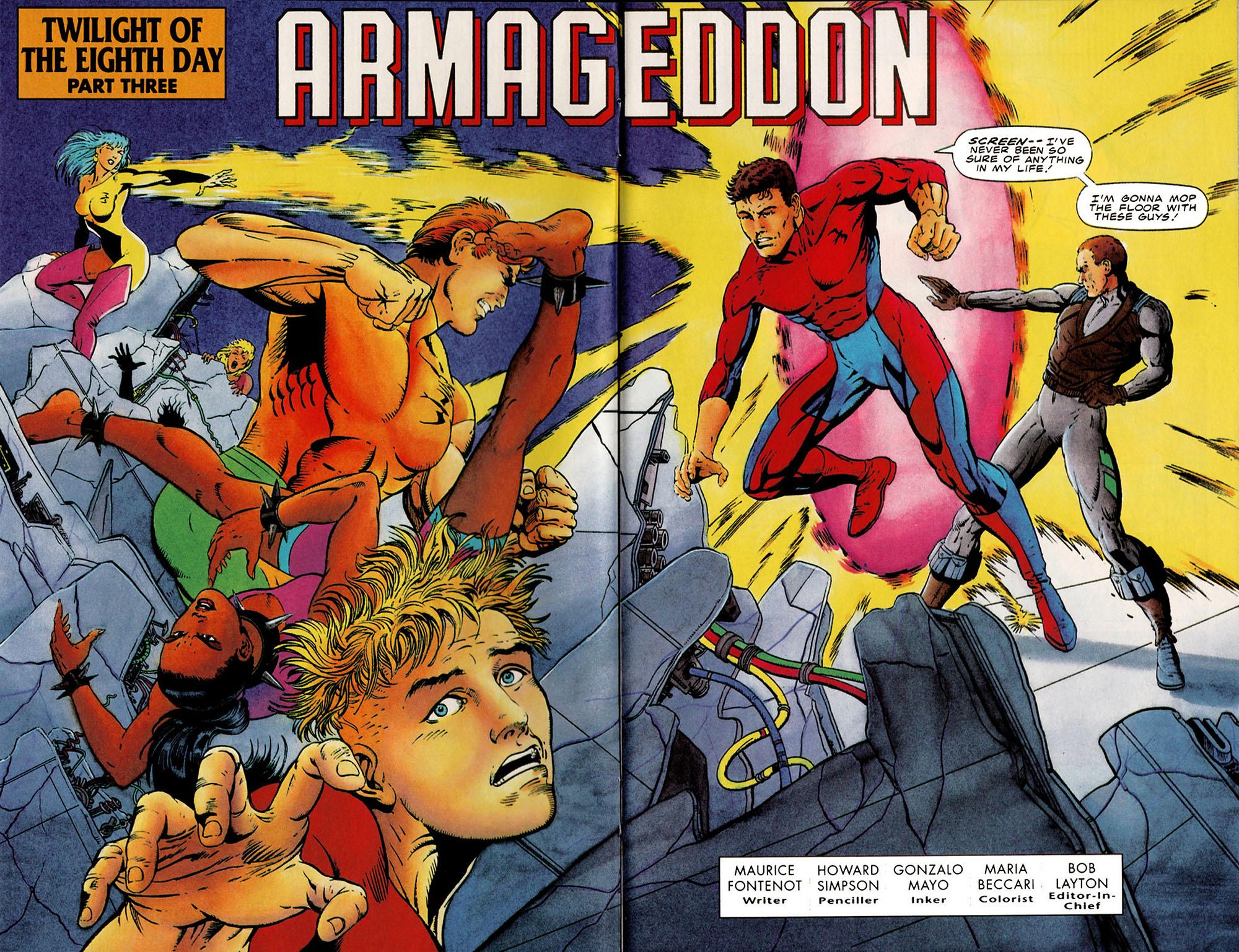 Read online Harbinger (1992) comic -  Issue #25 - 3