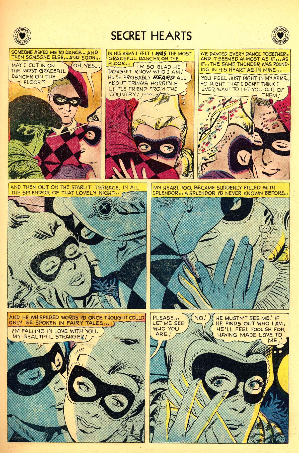 Read online Secret Hearts comic -  Issue #54 - 23