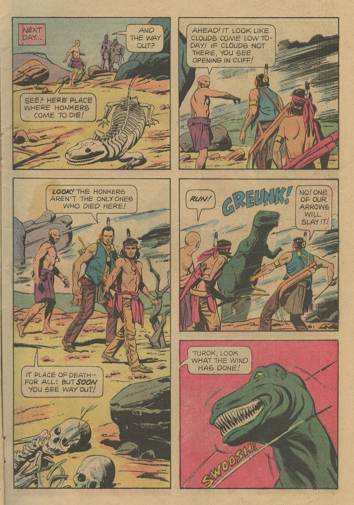 Read online Turok, Son of Stone comic -  Issue #103 - 9