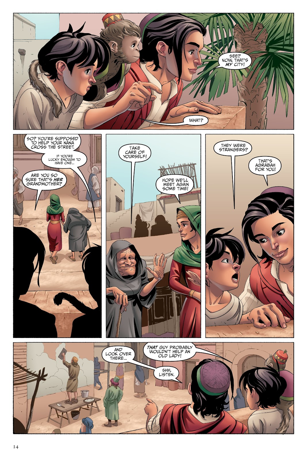 Read online Disney Aladdin: Four Tales of Agrabah comic -  Issue # TPB - 14