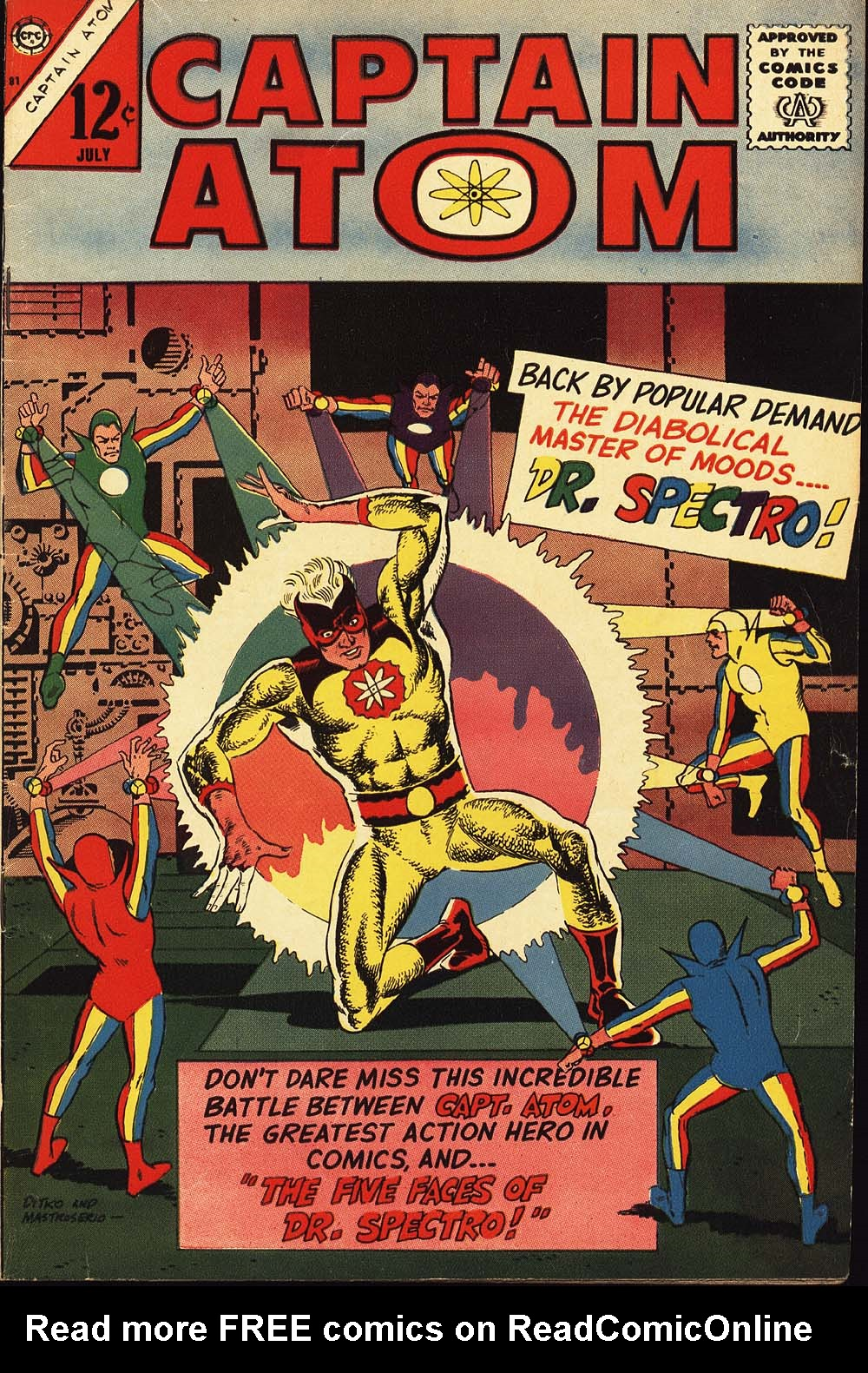 Captain Atom (1965) issue 81 - Page 1