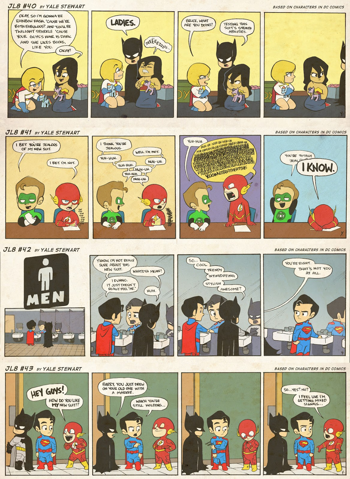 Read online JL8 – The Complete Collection comic -  Issue # TPB (Part 1) - 17