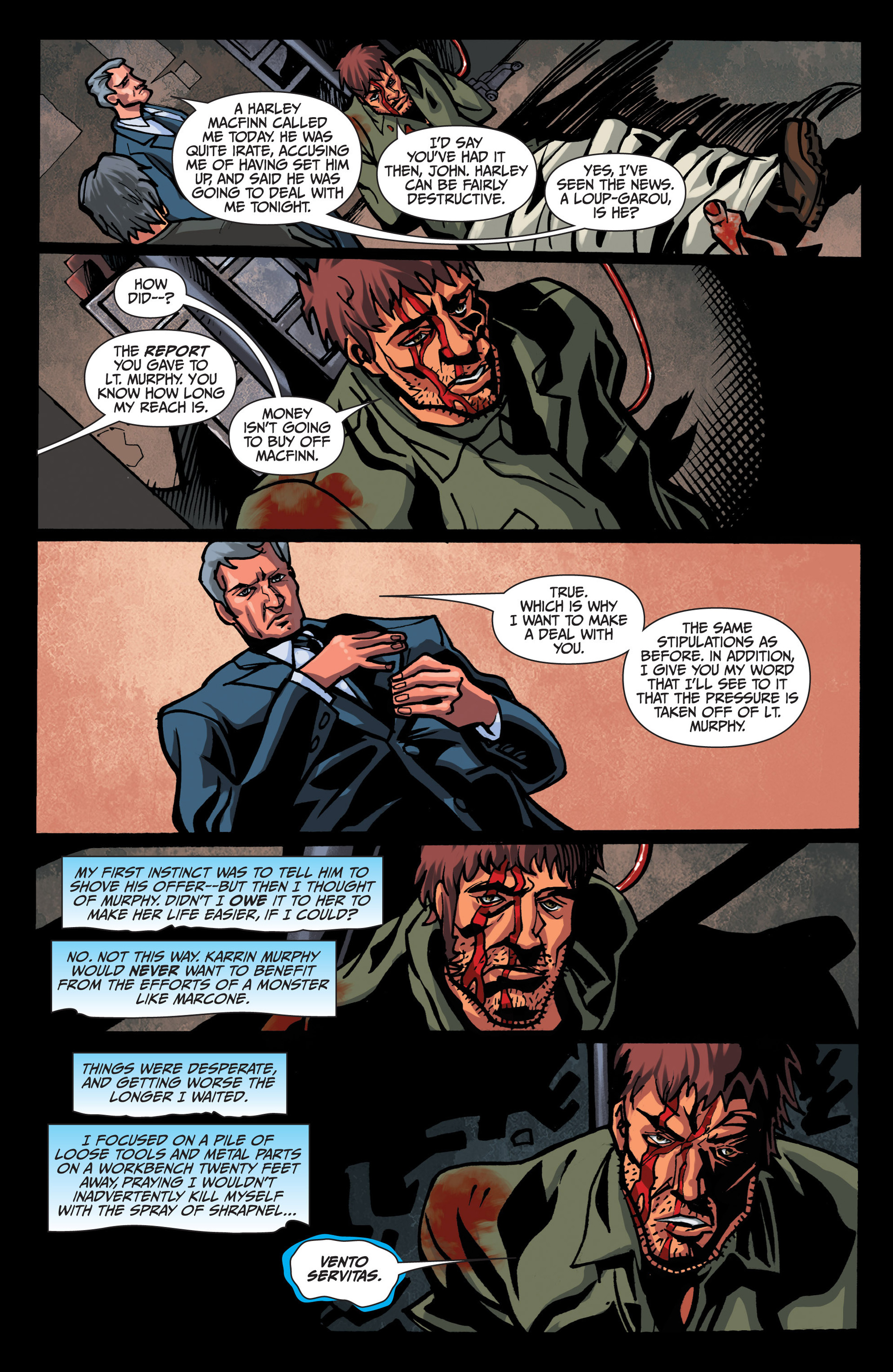 Read online Jim Butcher's The Dresden Files: Fool Moon comic -  Issue #7 - 4