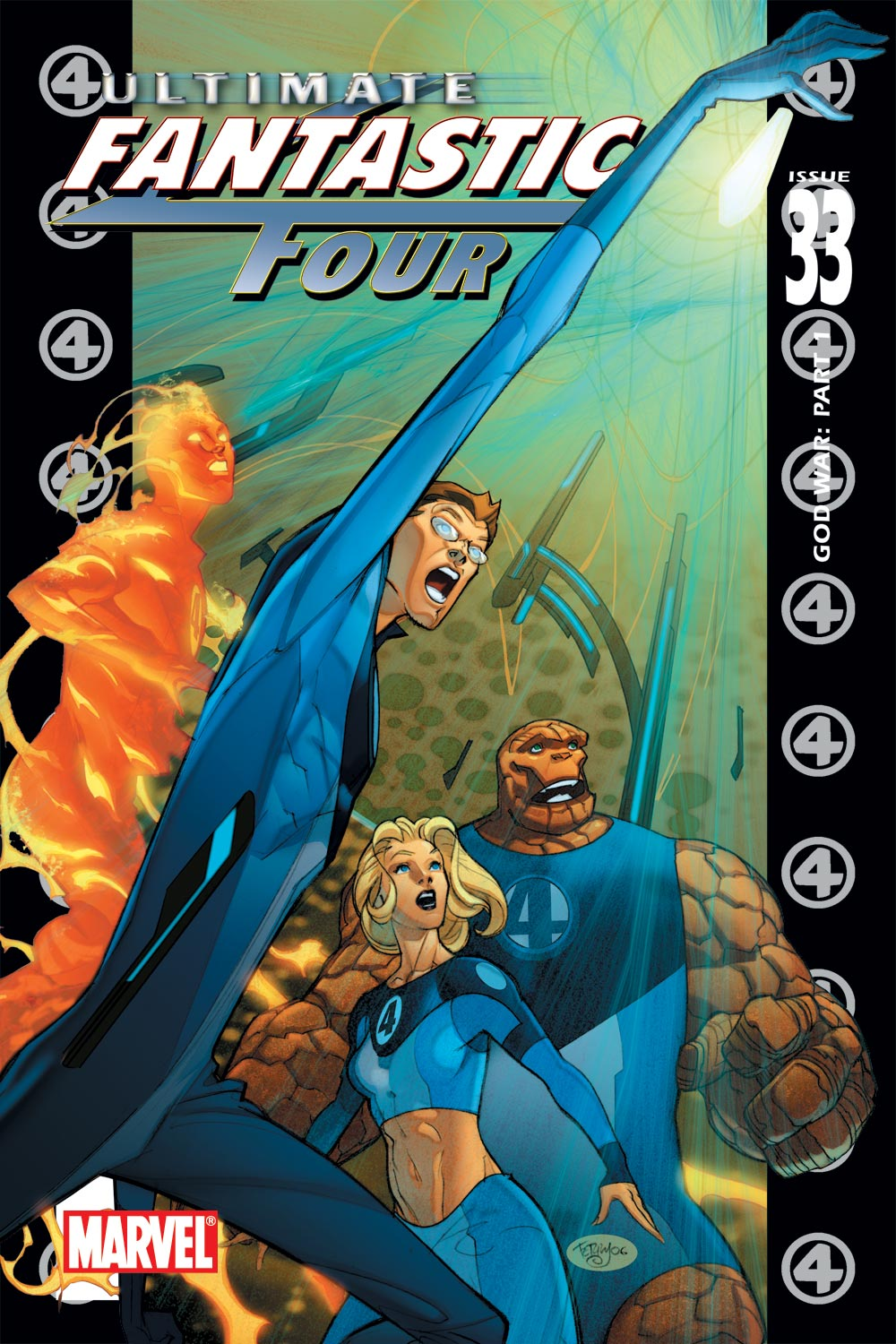 Read online Ultimate Fantastic Four (2004) comic -  Issue #33 - 1