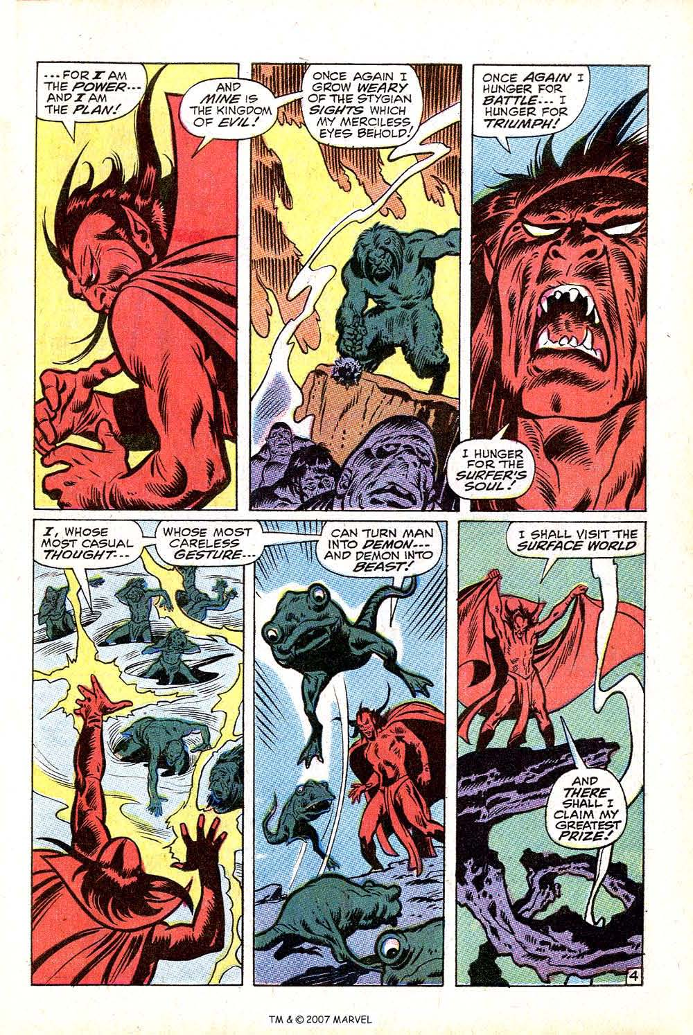 Read online Silver Surfer (1968) comic -  Issue #16 - 7