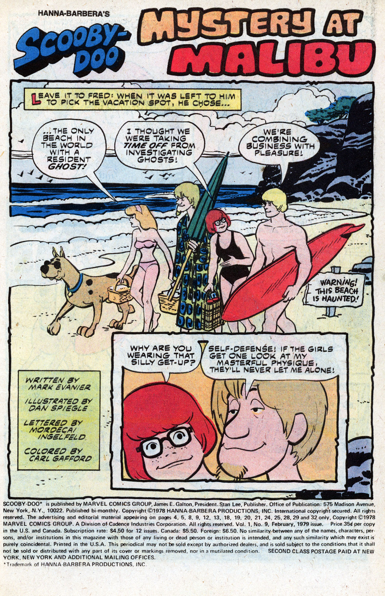 Read online Scooby-Doo (1977) comic -  Issue #9 - 3