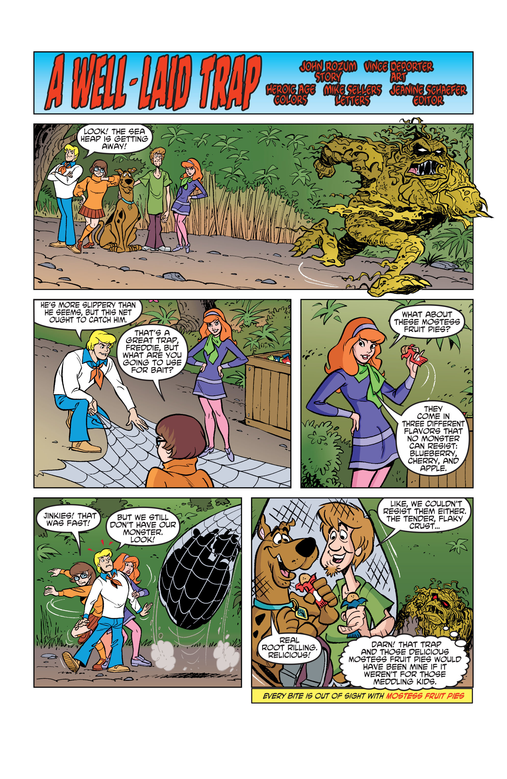 Read online Scooby-Doo: Where Are You? comic -  Issue #74 - 21