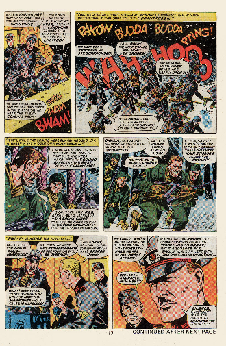 Read online Sgt. Fury comic -  Issue #139 - 19
