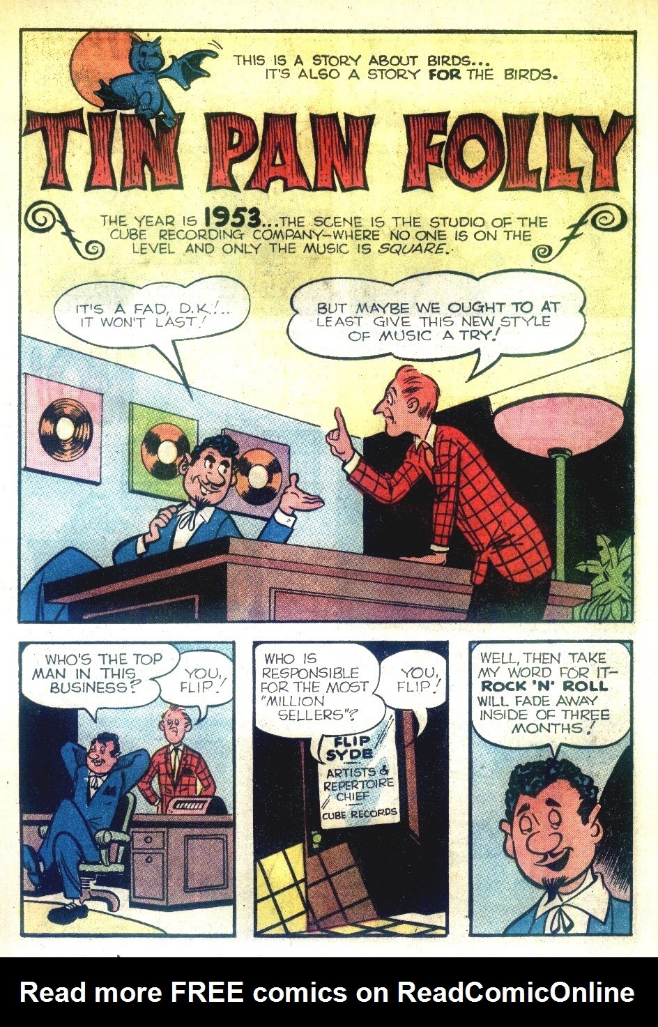 Read online Tales Calculated to Drive You Bats comic -  Issue #5 - 13