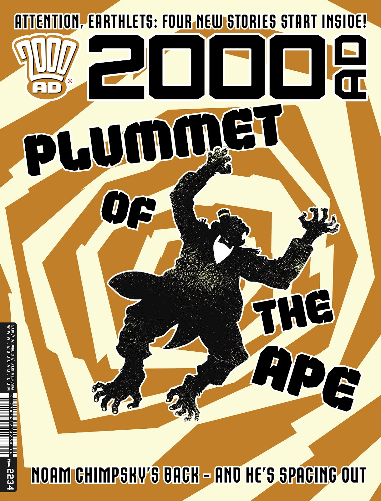 2000 AD 2234 Page 1