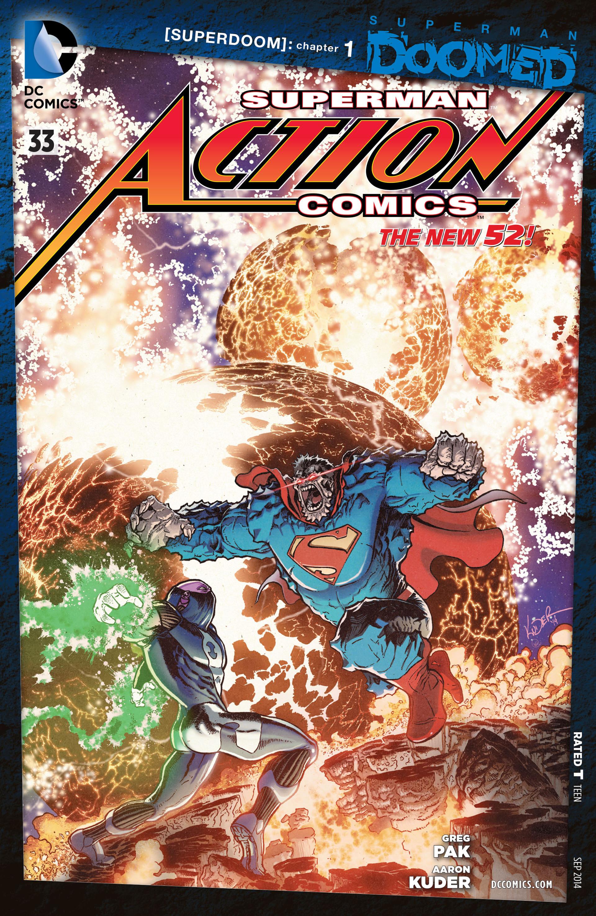 Action Comics (2011) 33 Page 1