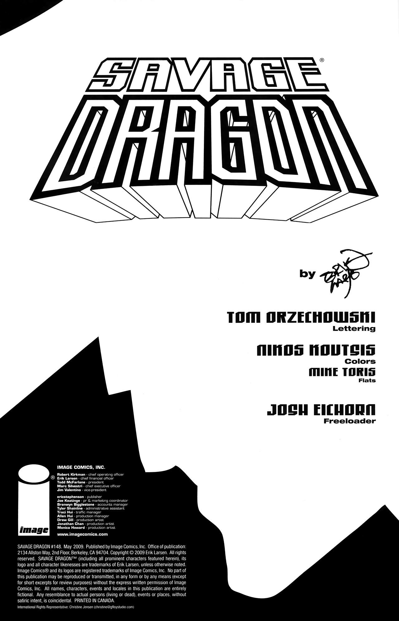 The Savage Dragon (1993) 148 Page 2