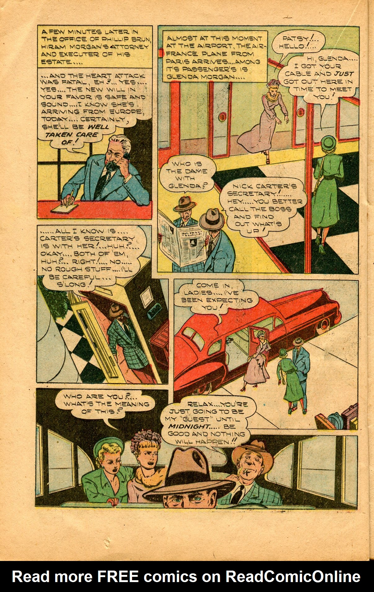 Read online Shadow Comics comic -  Issue #94 - 28
