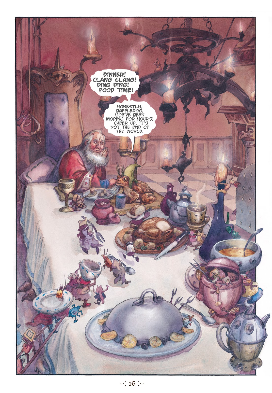 Read online The Wizard's Tale comic -  Issue # TPB - 15