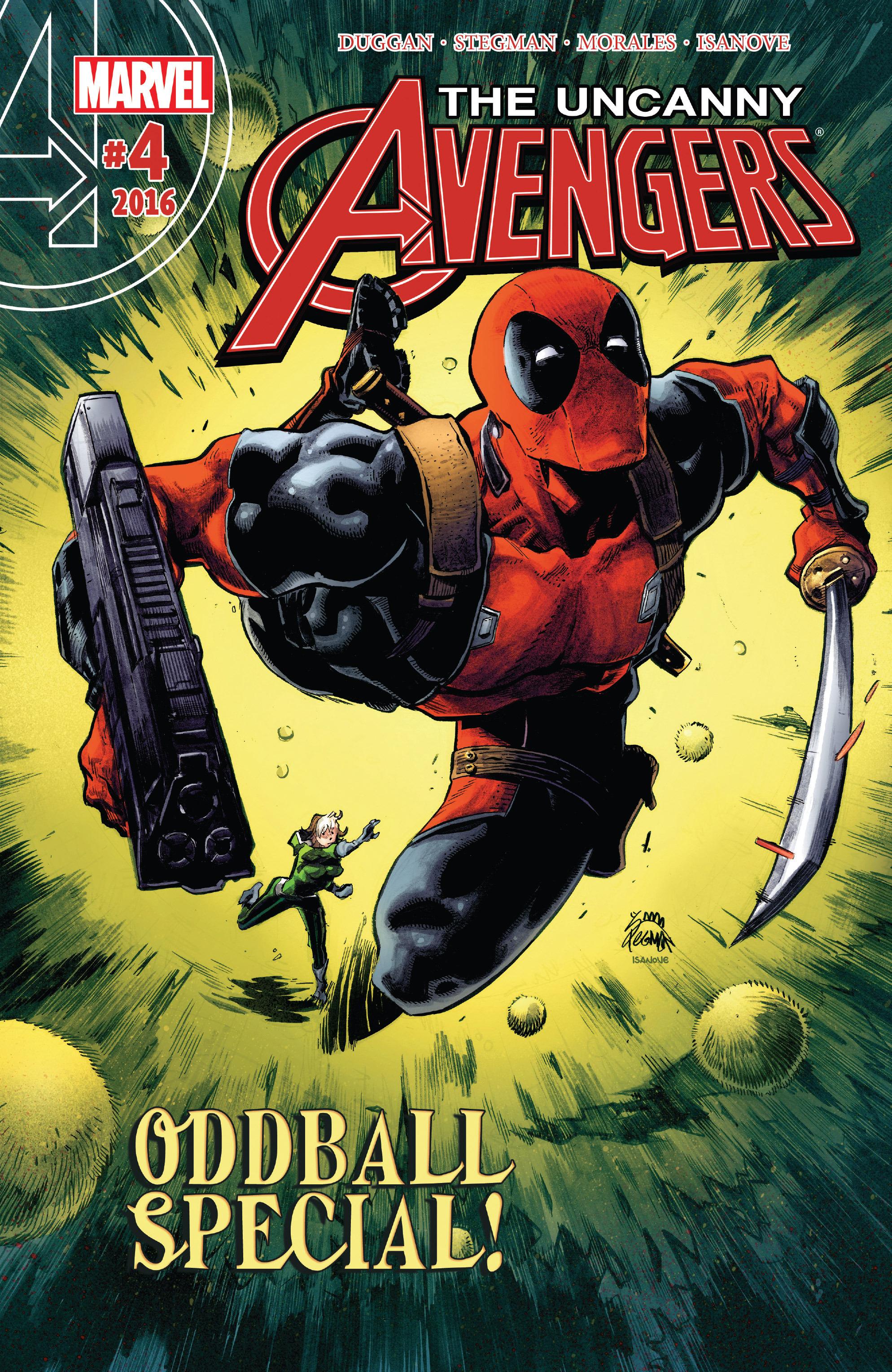 Read online Uncanny Avengers [II] comic -  Issue #4 - 1