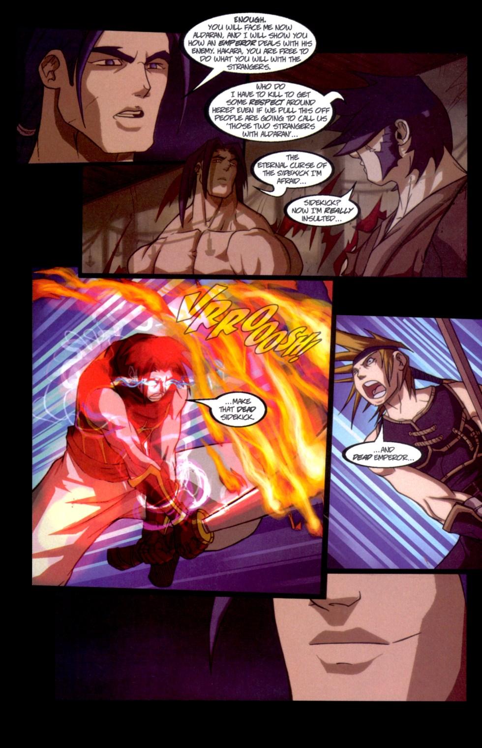 Read online Shidima comic -  Issue #6 - 21