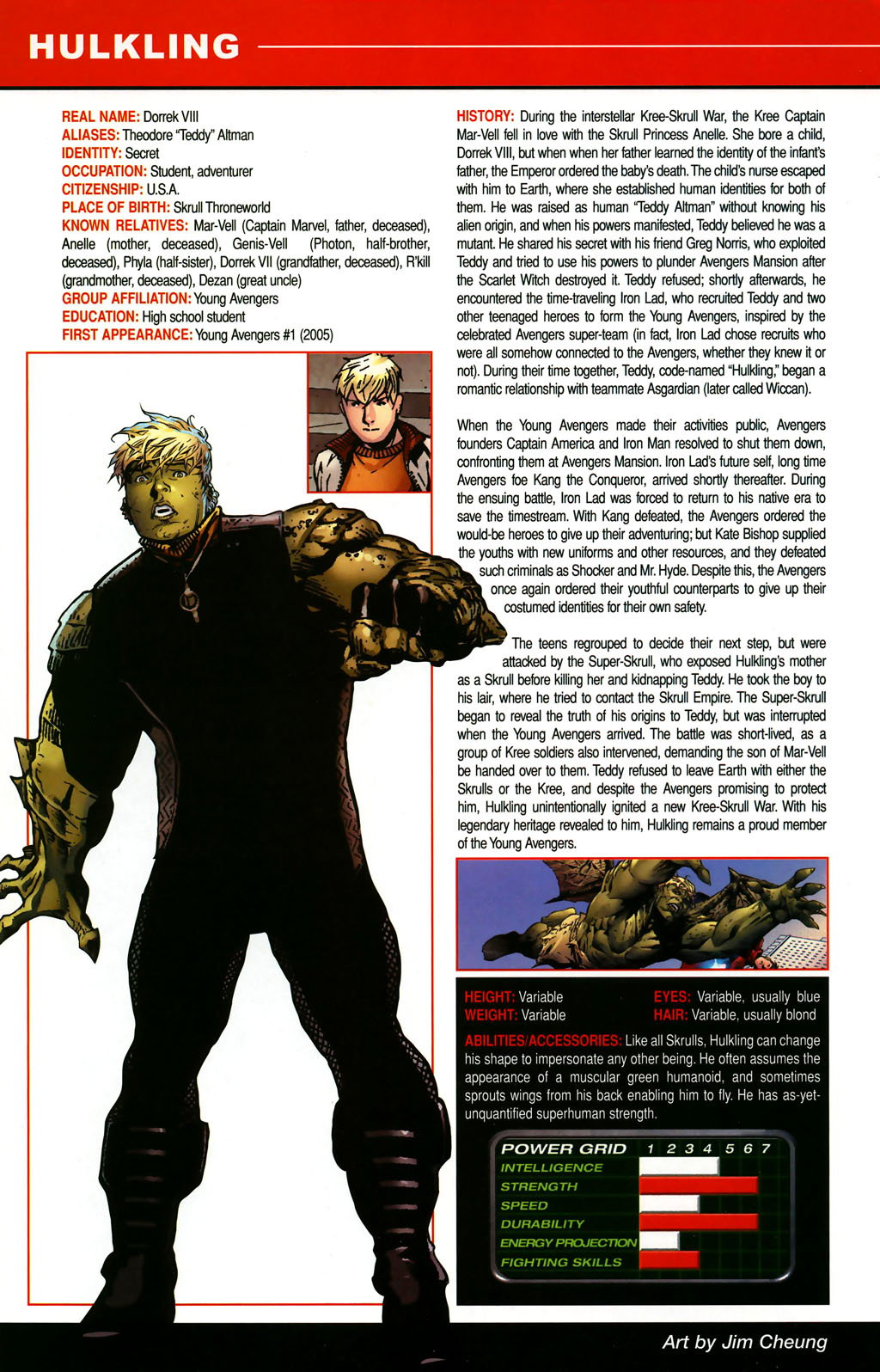 Read online All-New Official Handbook of the Marvel Universe A to Z comic -  Issue #5 - 34
