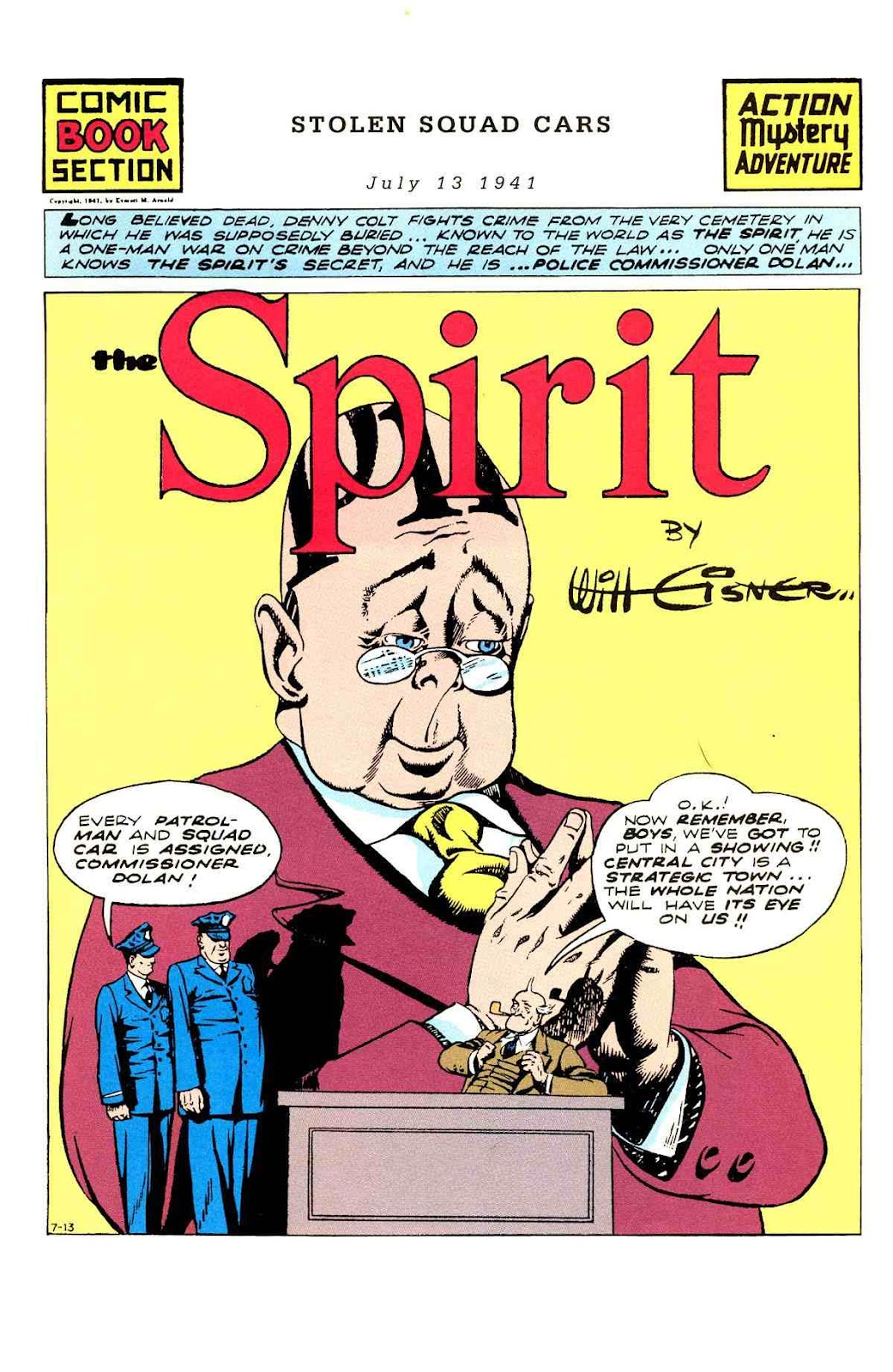 Read online Will Eisner's The Spirit Archives comic -  Issue # TPB 3 (Part 1) - 10
