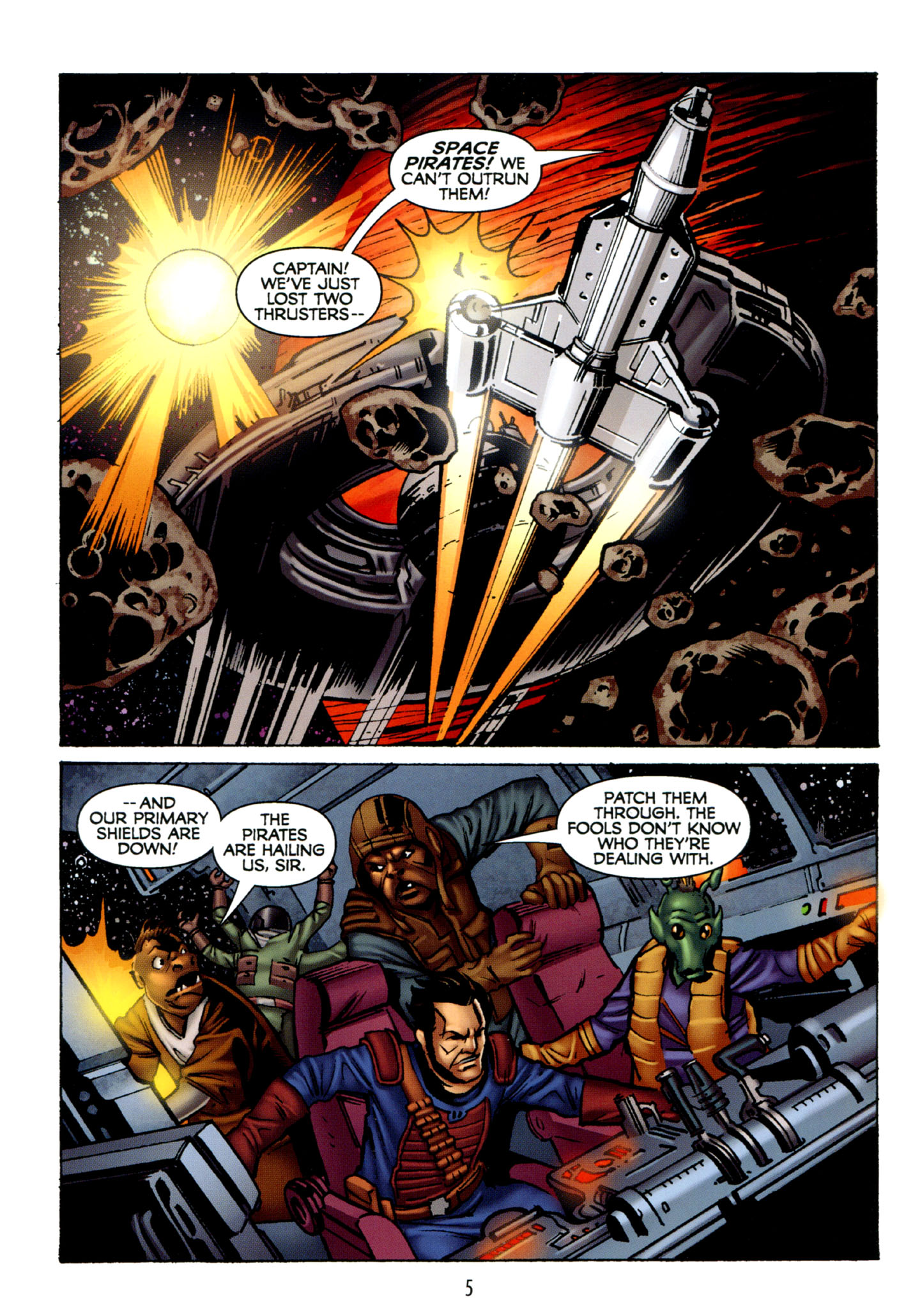 Read online Star Wars: The Clone Wars - Strange Allies comic -  Issue # Full - 6