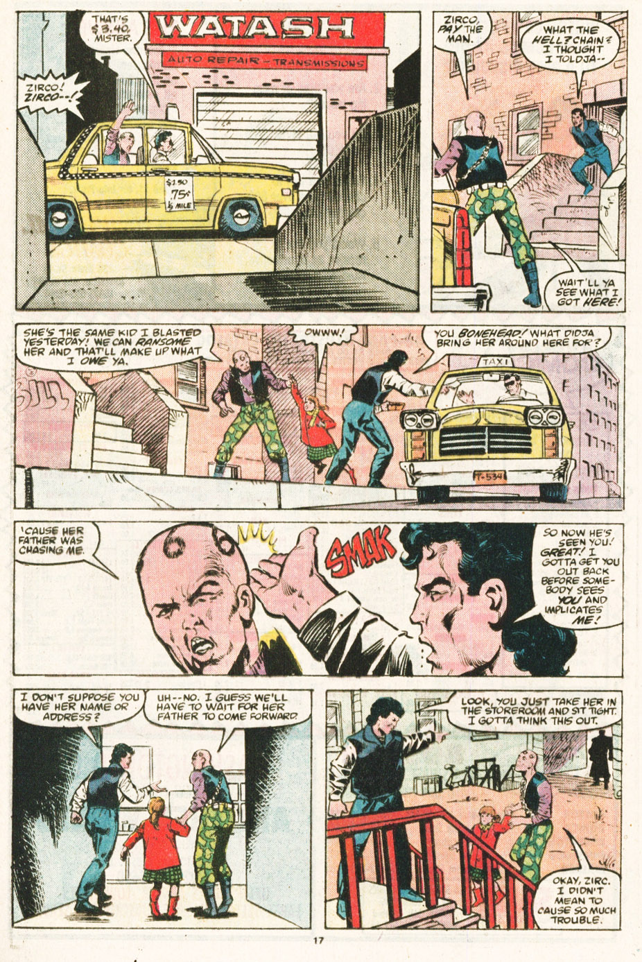 Read online Justice (1986) comic -  Issue #6 - 18