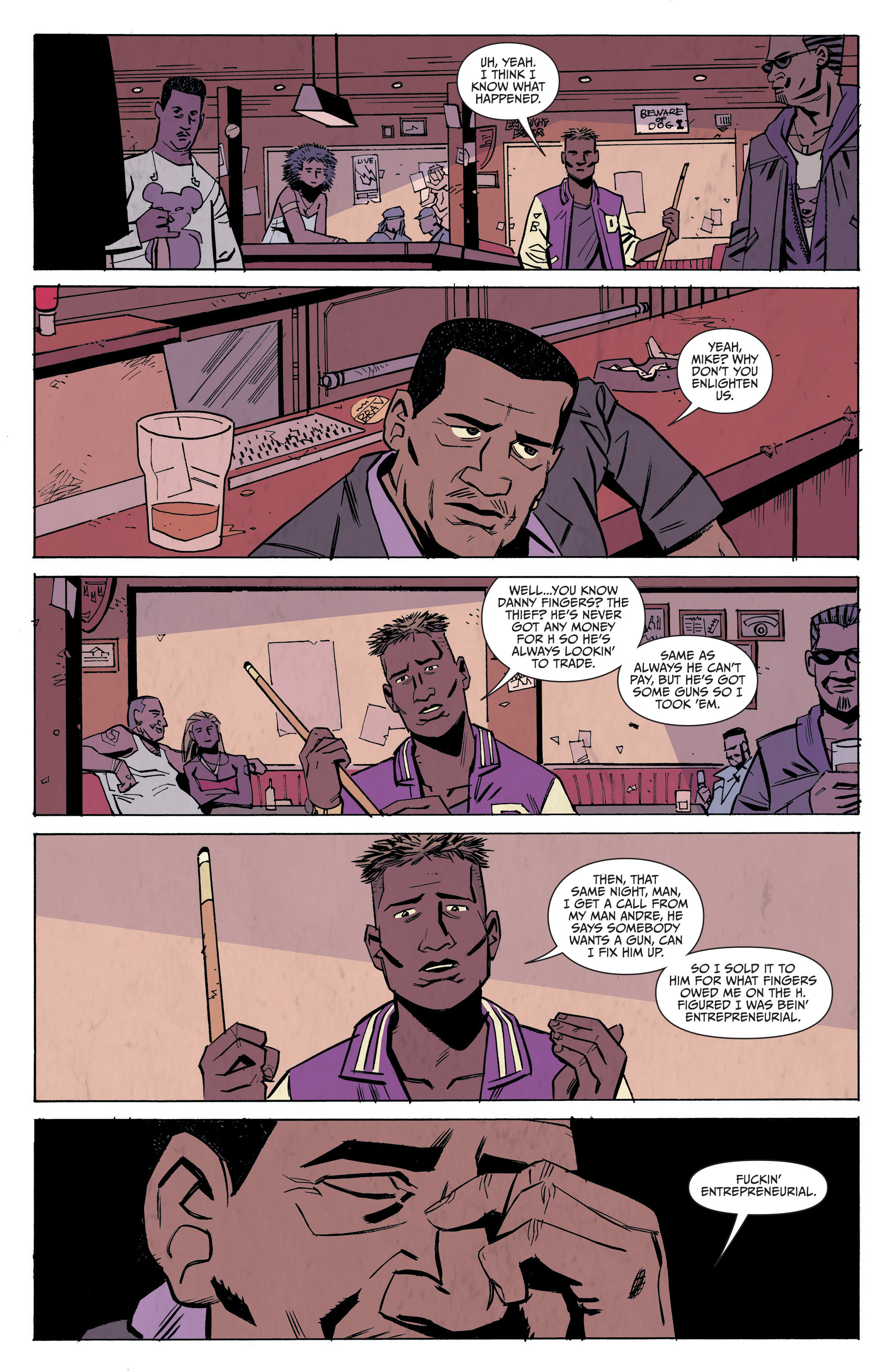 Read online Sons of Anarchy: Redwood Original comic -  Issue #7 - 11