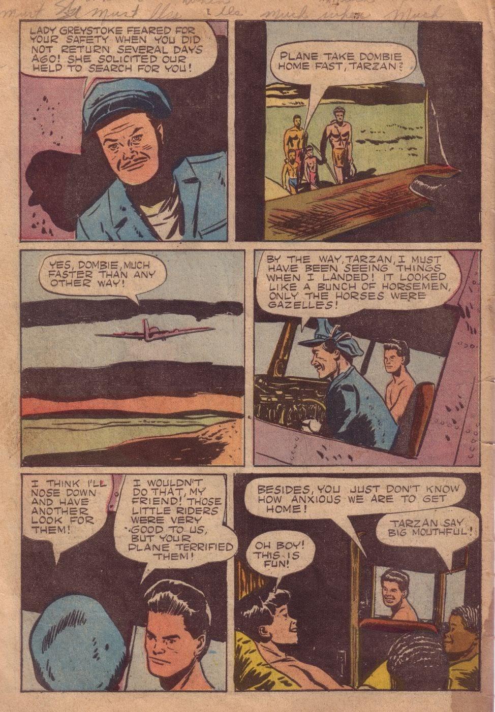 Tarzan (1948) issue 8 - Page 34