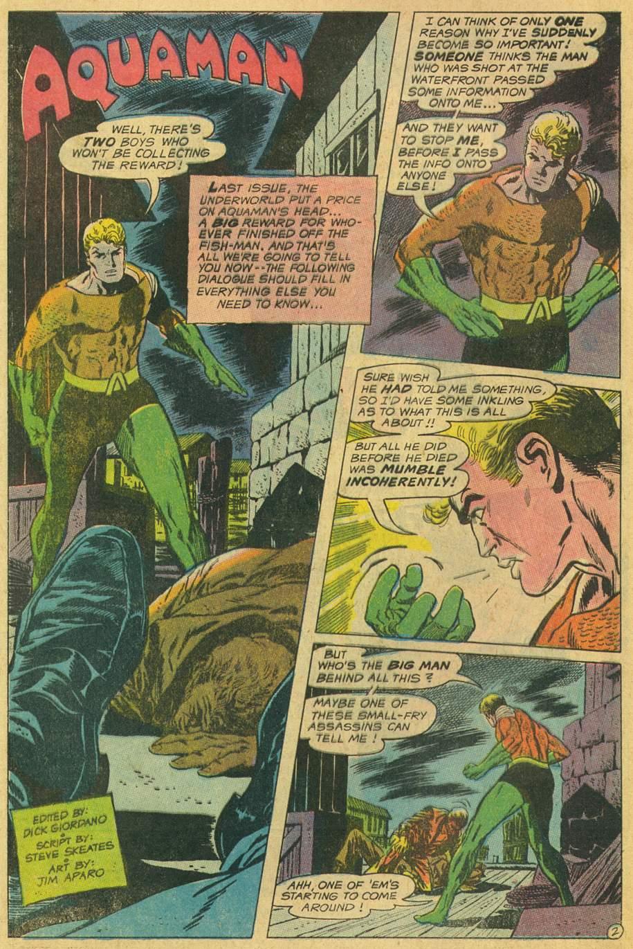 Aquaman (1962) issue 45 - Page 4
