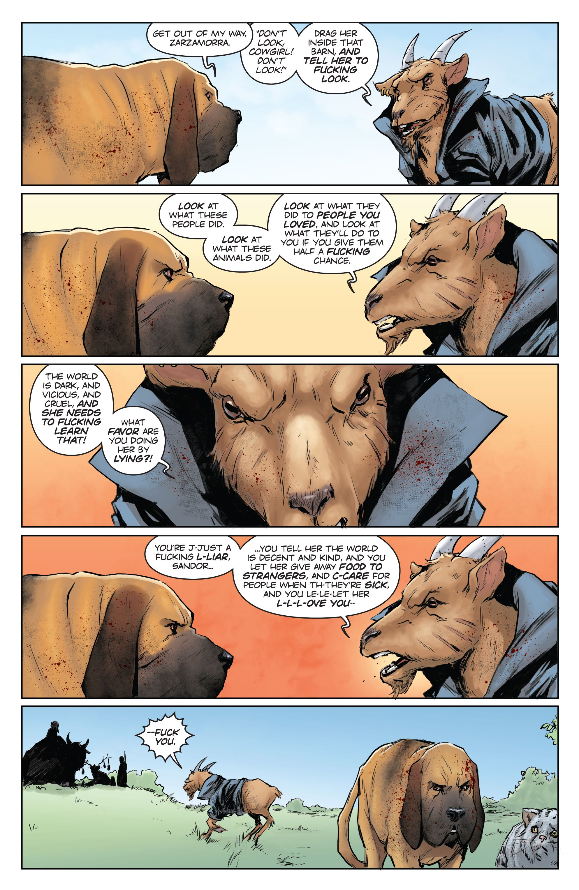 Read online Animosity comic -  Issue #7 - 15