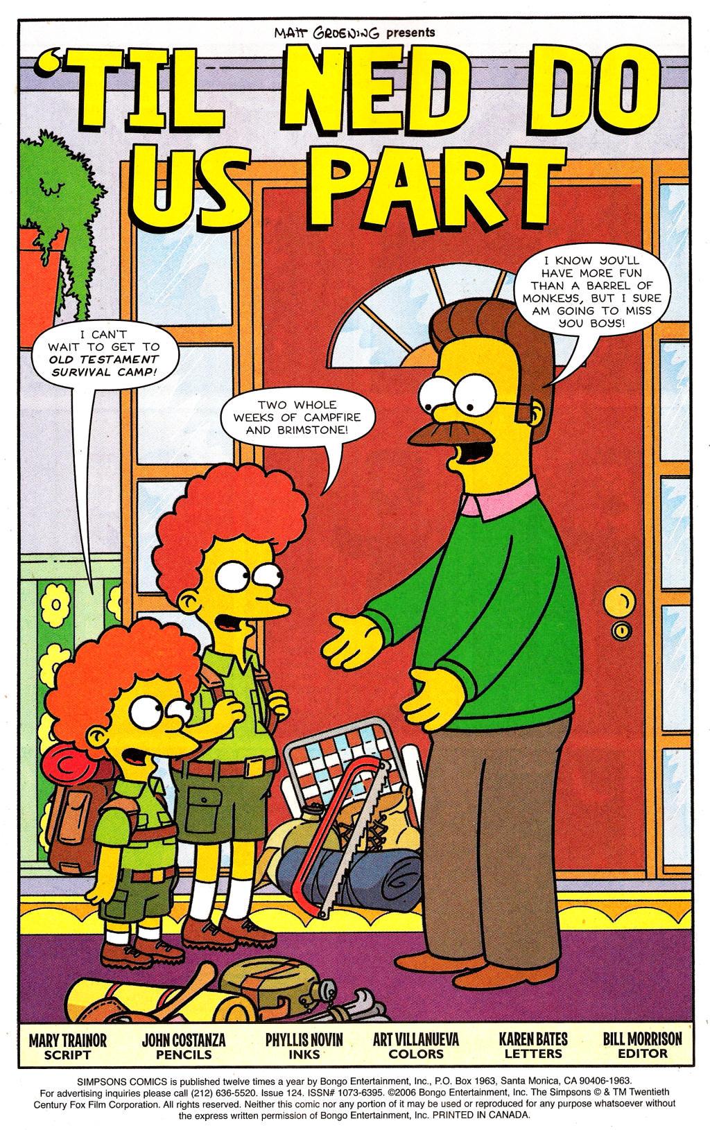 Read online Simpsons Comics comic -  Issue #124 - 2