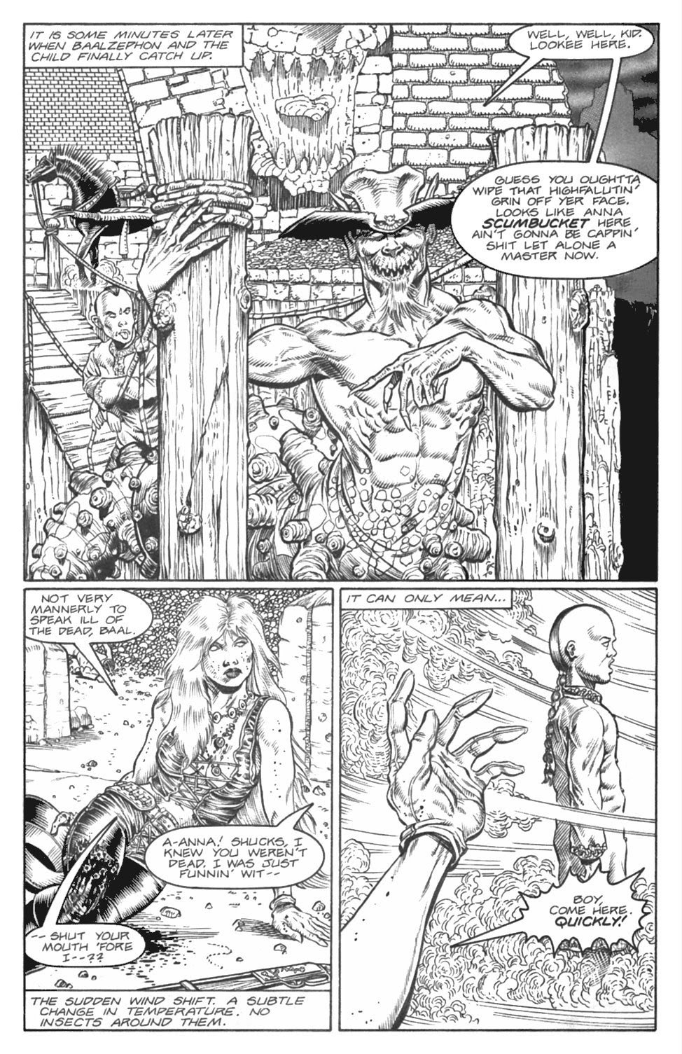 Read online Gunfighters in Hell comic -  Issue #4 - 23